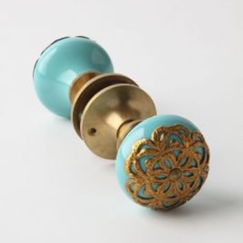 Flora Forever Doorknob - Anthropologie.com