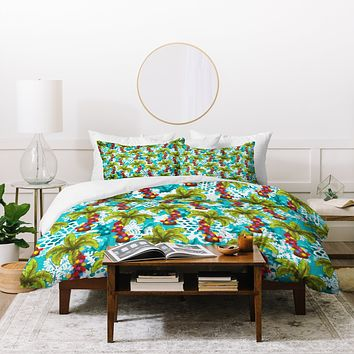 Aimee St Hill Tropical Christmas Duvet Cover