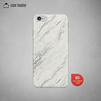"White marble stone pattern  - iphone 6 case (4.7""), iphone 6 plus case (5.5""), iphone 5C case, iphone 5S case, iphone 4S case"