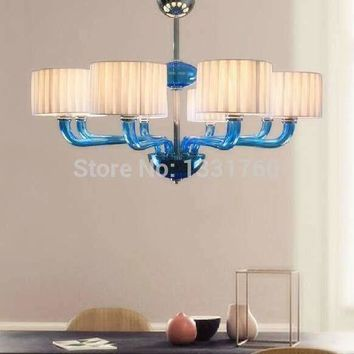 8 heads white shade  Barovier&Toso Alexandra chandeliers pendant lamp ceiling lamp living room aurora lighting 5 heads 6 heads