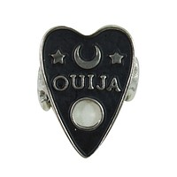 Ouija Board Cursor Ring - Ouija board planchette Ring