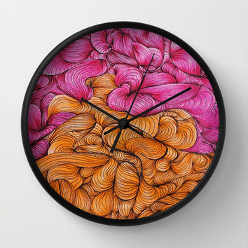 Woven Together Wall Clock by DuckyB (Brandi)