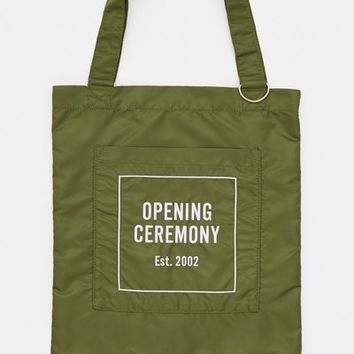 Opening Ceremony Eco Tote Bag - WOMEN - Bags & Wallets - Opening Ceremony - OPENING CEREMONY