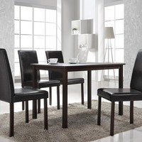Baxton Studio Andrew Modern Dining Table Set of 1