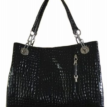Deanna Urban Moxy Black Concealed Carry Purse Handbag
