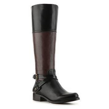 Audrey Brooke Abey Two-Tone Riding Boot