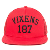 Vixens - Ladies Woven Trucker Hat