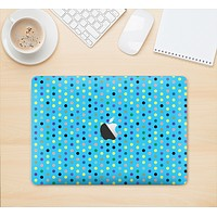 """The Scattered Blue Polkadots Skin Kit for the 12"""" Apple MacBook"""
