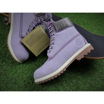Timberland Icon 6 Classic Purple Grey Winter Outdoor Boots