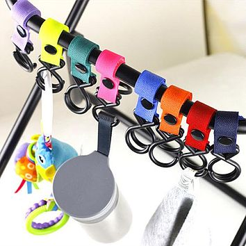 Baby Trolley Car Hook Multipurpose Child Convenient Mummy 360 Degree Rotation Hanging Hooks Stroller Accessories