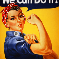 We Can Do It! (Rosie the Riveter) Prints by J. Howard Miller at AllPosters.com