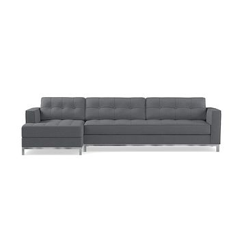 Fillmore 2pc Sectional Sofa :: Configuration: LAF - Chaise on the Left