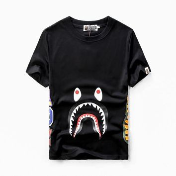 spbest A Bathing Ape Ape Shark Jaw Head Japan T-Shirt