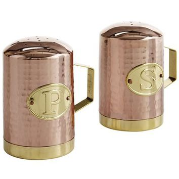 Cypress Grove Copper Salt & Pepper Shakers