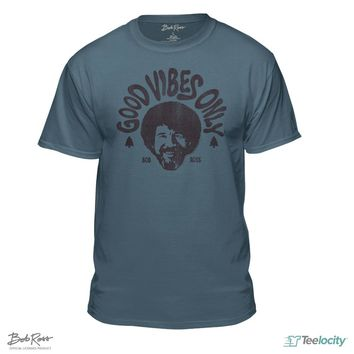Bob Ross Official Good Vibes Only T-shirt