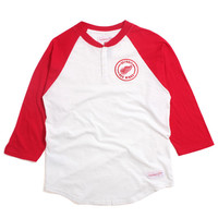 Detroit Red Wings Unbeaten Henley Off White / Red