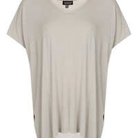 Split-side Tee | Topshop