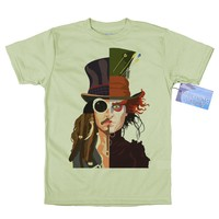 Johnny Depp T-Shirt Design,
