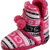 Hello Kitty Women`s Short Super Plush Bootie $14.99
