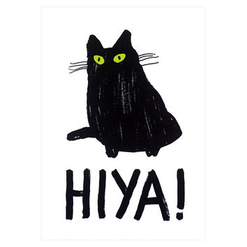 Hiya Greeting Card