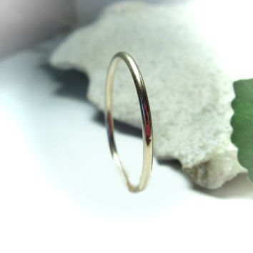Stacking Ring Gold Filled Plain