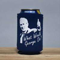 What Would George Do? Beer Sleeve