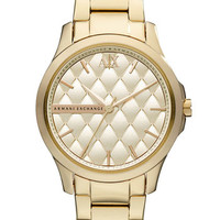 AX Armani Exchange Quilted Dial Watch, 36mm (Online Only)