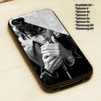 Alex Turner Artic Monkeys Smoke - Print on cover for iPhone and Samsung Galaxy case