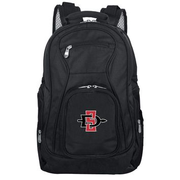 San Diego State Aztecs Backpack Laptop-BLACK