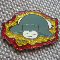 "1-20 ""Dabbed Out Snorlax"" Pins FREE SHIPPING"