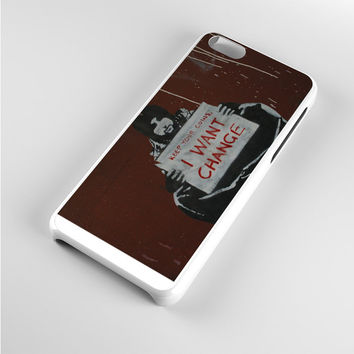 Keep Your Coins I Want Change Grunge iPhone 5c Case