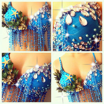Under the Sea Rave Bra