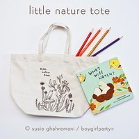 Toddler Tote Bag - Small Tote Bag for Kids by boygirlparty