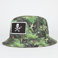 Neff Disney Villains Bucket Hat Green One Size For Men 24177450001