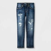 Boys' Skinny Jeans - Cat & Jack™ Medium Repair