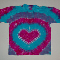 Maternity Tie Dye Heart Shirt - Any Size, Style, & Color Combination Available