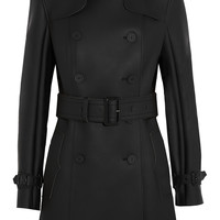 Hunter Original - Rubberized jersey trench coat