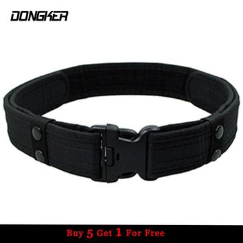 Combat 2 Inch Canvas Duty Tactical Sport Belt