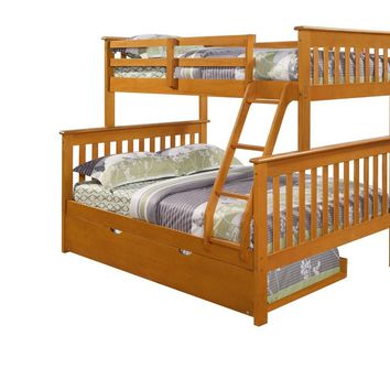 Alaina Twin over Full Bunk Bed with Trundle