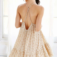 Out From Under Gauze Tiered Slip Dress - Urban Outfitters