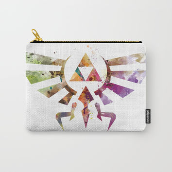 Zelda Carry-All Pouch by monnprint