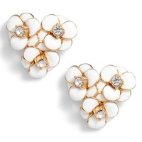 kate spade new york shine on flower cluster stud earrings | Nordstrom