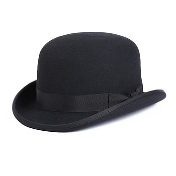 100% Wool Men's Bailey Fedora Hat