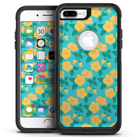 Tropical Floral v1 - iPhone 7 or 7 Plus Commuter Case Skin Kit