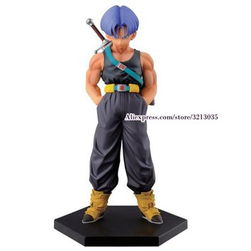 Anime Dragon Ball Z Resurrection F Trunks Action Figure DragonBall Figures Toys Collectible Model Dolls 15cm Juguetes