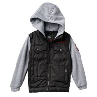 WeatherKids Weatherproof Mock-Layer Jacket - Boys 4-7