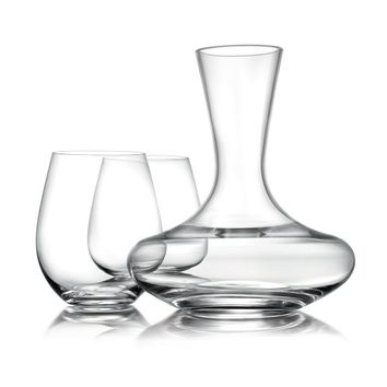 Williams-Sonoma Reserve Stemless Red Wine Glasses & Decanter Gift Set