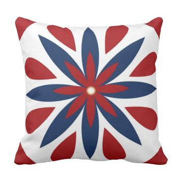 Flower Design Pillow