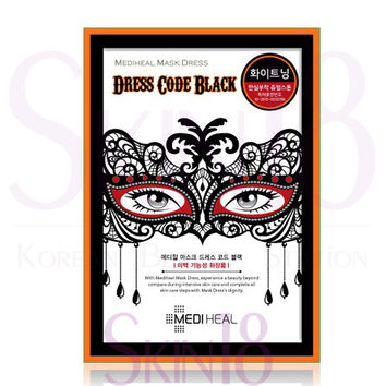 Mediheal Mask Dress Code Black (Whitening Care)