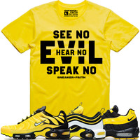 EVIL Sneaker Tees Shirt - Nike Air Max Frequency Pack Bumble Bee